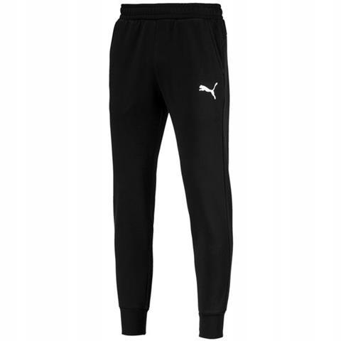 Spodnie Puma ESS Logo FL CL SIZE XL BLACK
