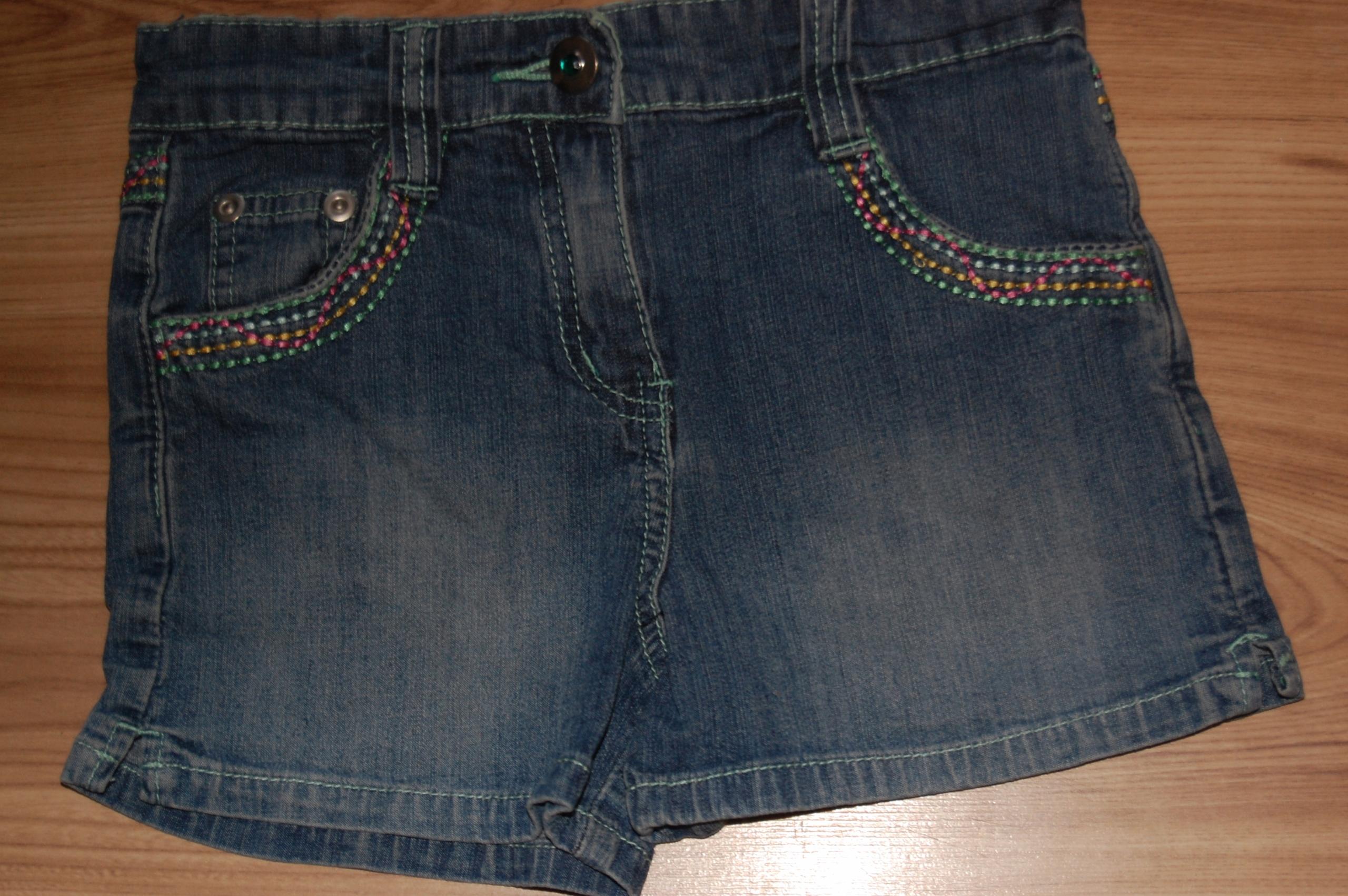 spodenki 104 tu jeans