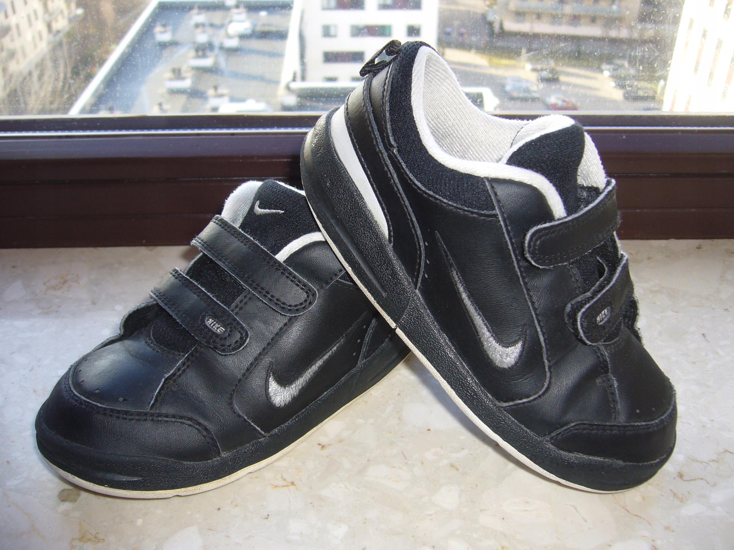 Buty dziecięce sportowe adidasy Nike r.27 skóra 7878598363