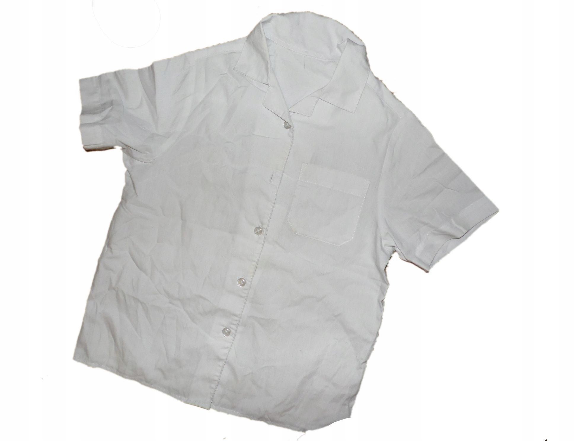 koszula biała 116 stan bdb