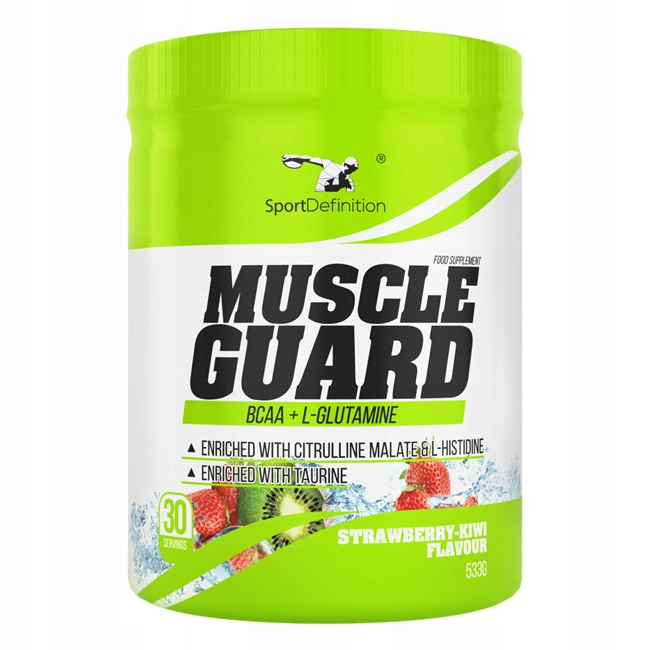 SPORT DEFINITION MUSCLE GUARD 533G BCAA GLUTAMINA