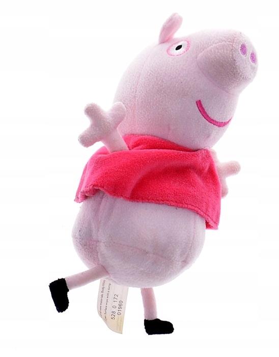 5726-63 ...PEPPA PIG... a#f MASKOTKA SWINKA 23CM