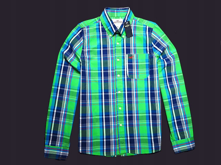 HOLLISTER __ AWESOME COLORS NEW SHIRT - XL