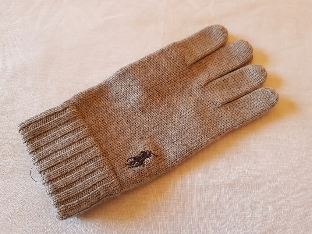 Rękawiczki Ralph Lauren Merino One Size