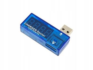 MIERNIK NAPIĘCIA PRĄDU USB AMPEROMIERZ WOLTOMIERZ