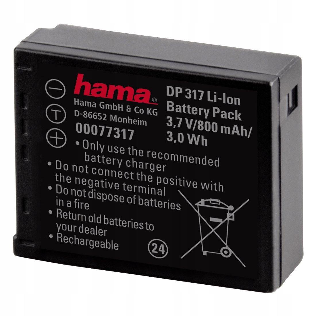 NOWA BATERIA do aparatu Lumix DMC-TZ5/4/3/2/1