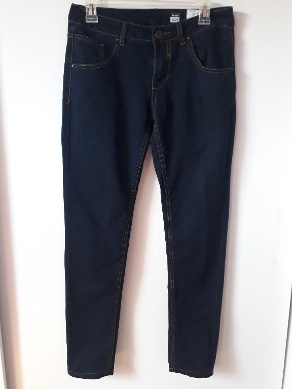 ciemne granatowe rurki jeansy medicine 27/34