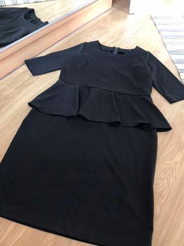 Sukienka CZARNA BASKINKA 46 NOWA METKI XL XXL
