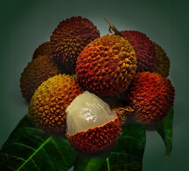 Liczi chińskie - pyszne owoce - NASIONA