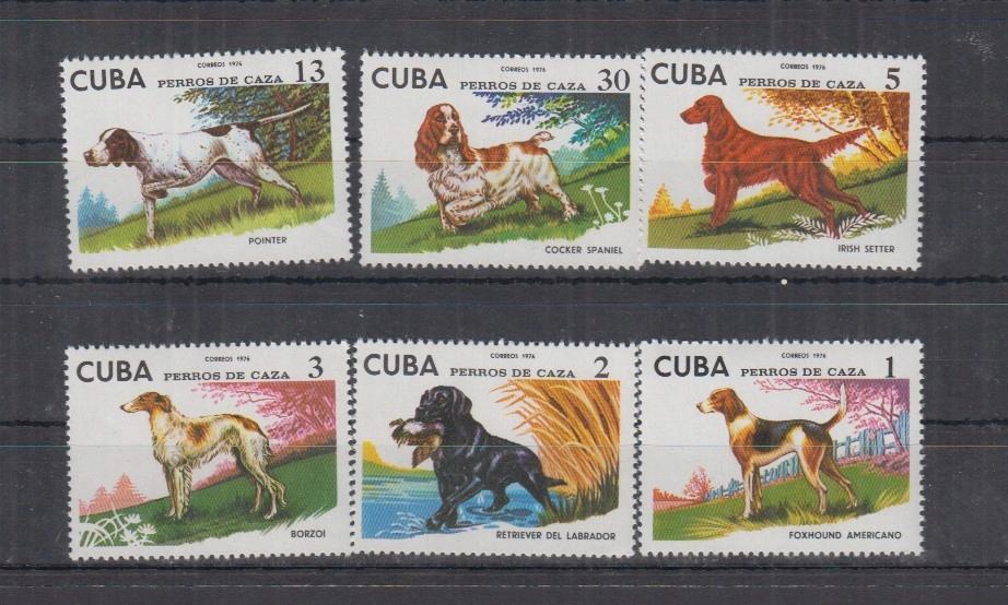 Z45. MNH Cuba Natura Fauna Psy