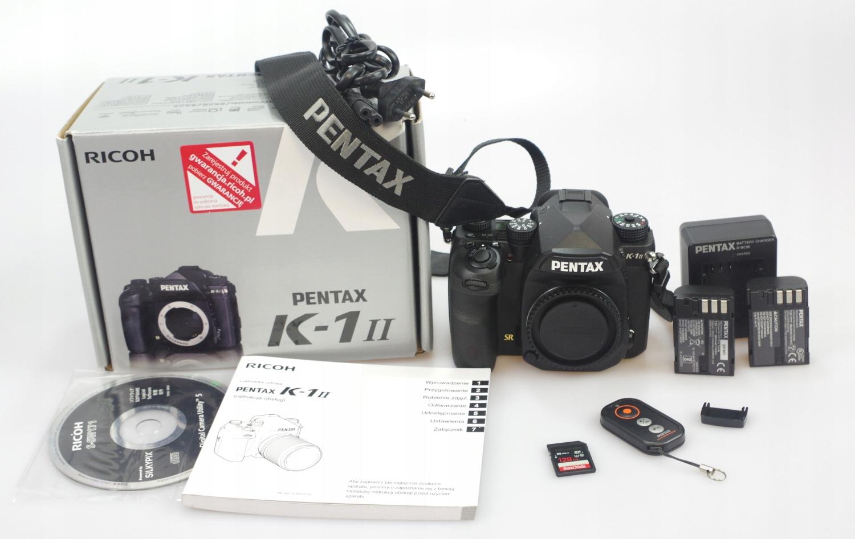 Pentax K-1 Mark II Body + 128GB - Gwarancja