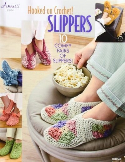 Hooked on Crochet! Slippers (Annie's Attic: Croche