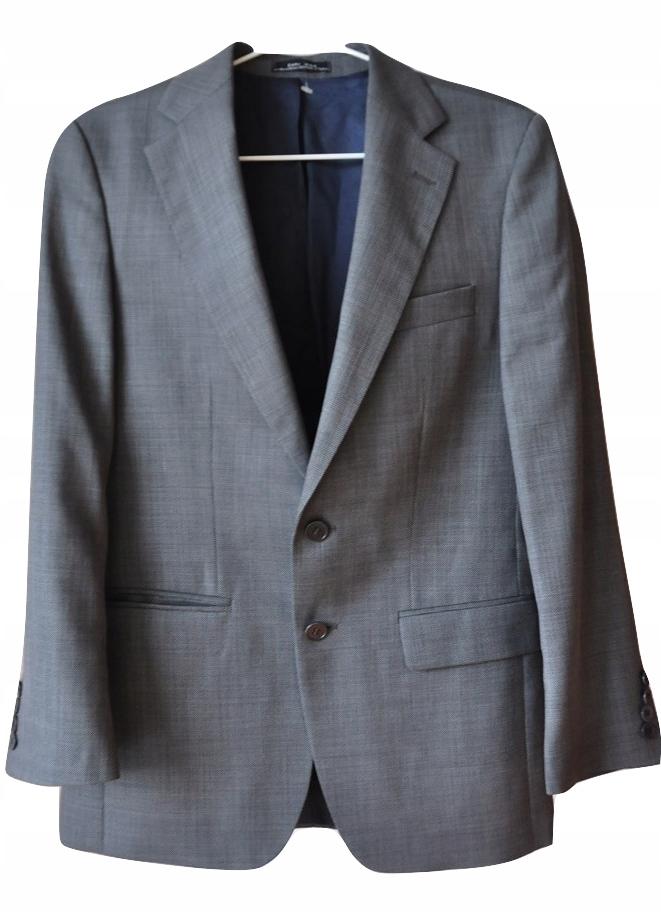 ZARA MAN ekskluzywny garnitur 46 spodnie 30