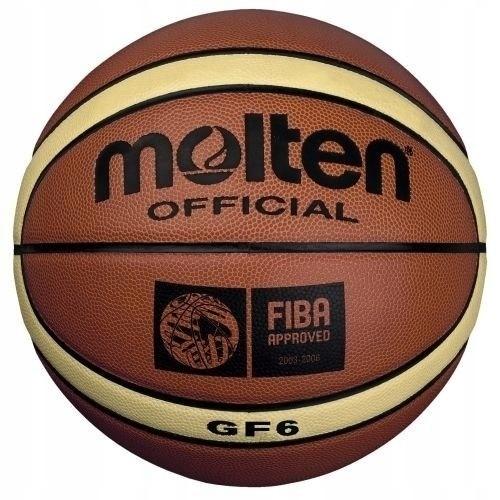 MOLTEN PIŁKA KOSZYKOWA GF6-X ATEST FIBA r 6