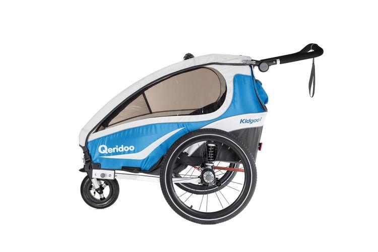 Przyczepka rowerowa QERIDOO KIDGOO2 2018 BLUE