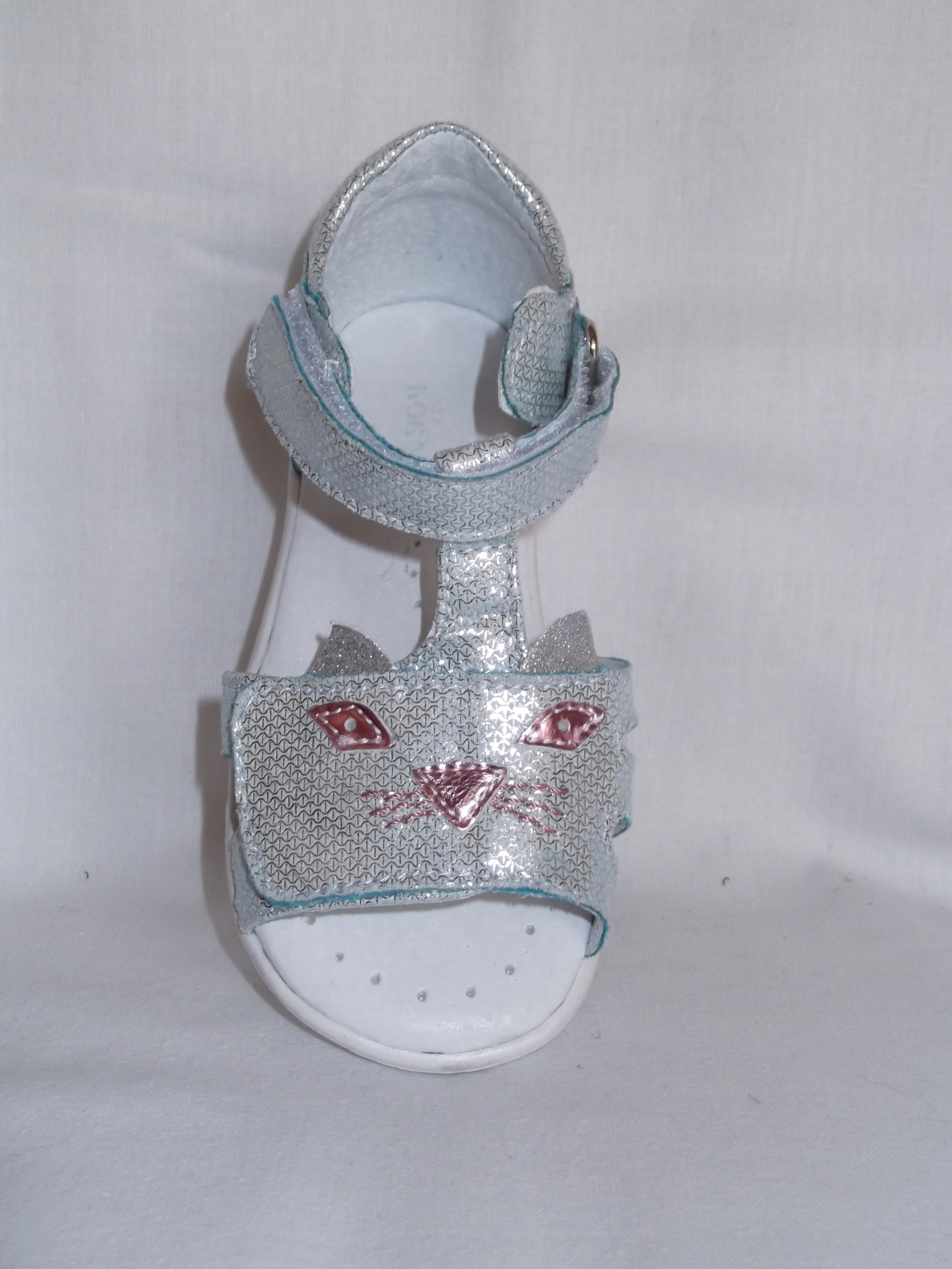 Sandałki dziewczynka Kornecki 6305 wkł.13,5cmroz21