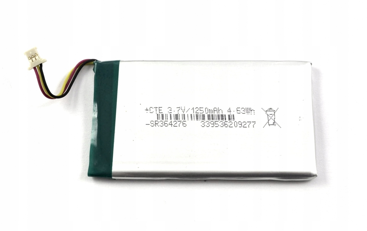Bateria Becker transit 5 LMU (1250mAh)