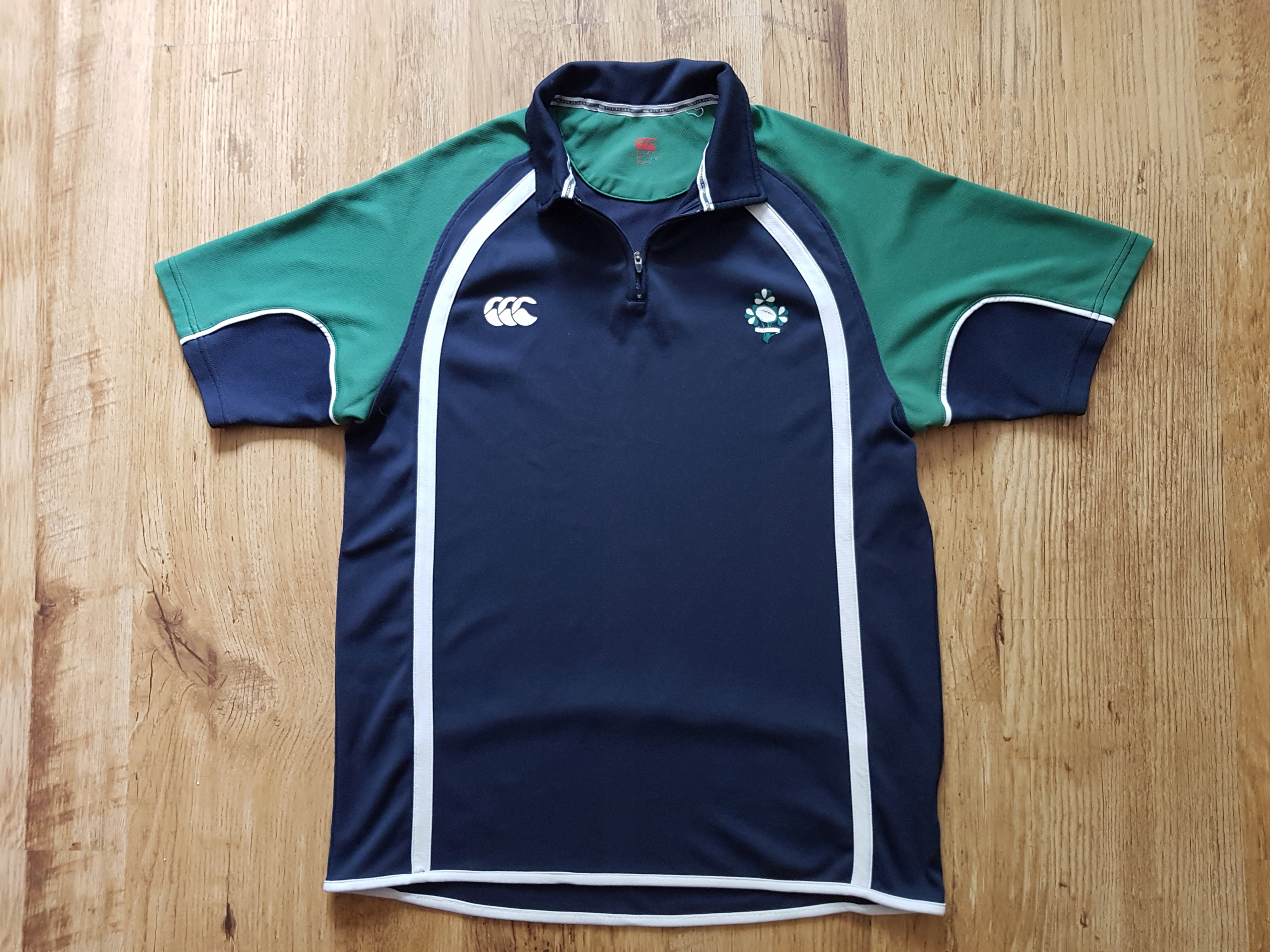 CANTERBURY IRELAND__KOSZULKA T-SHIRT DO RUGBY L