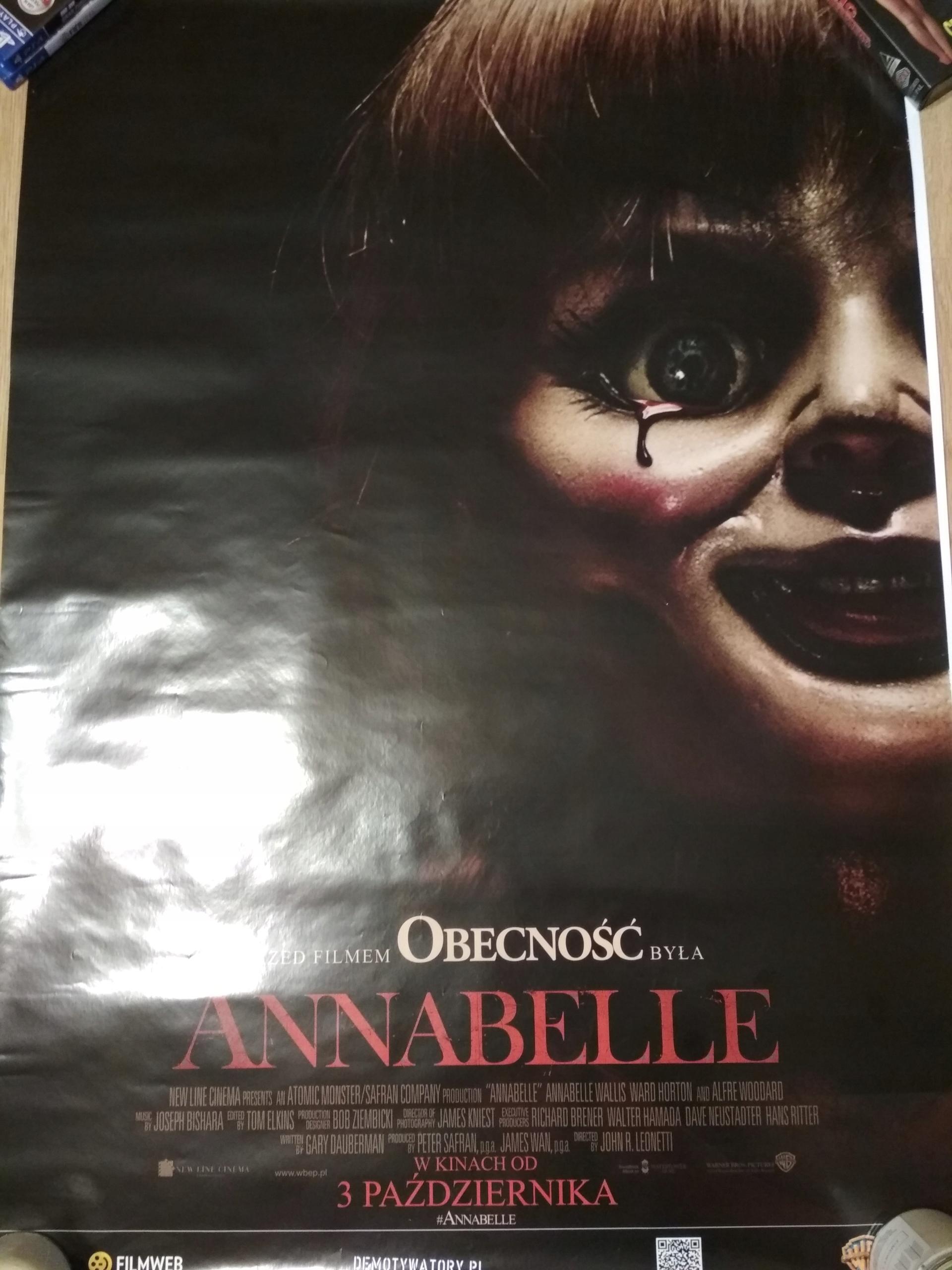 Plakat Filmu Anabelle Horror