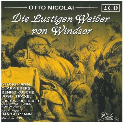 CD Nicolai, O. - Die Lustigen Weiber Von W Orch.De