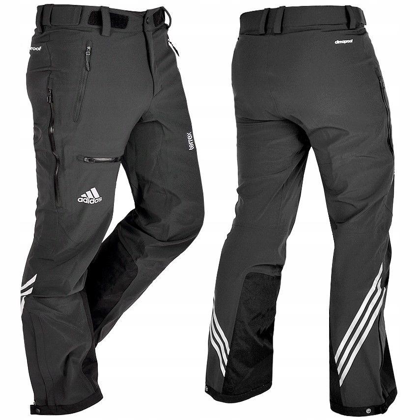 informacje o wersji na całkowicie stylowy znana marka Adidas Terrex Blaueis spodnie górskie 46 (S/M) W30 ...