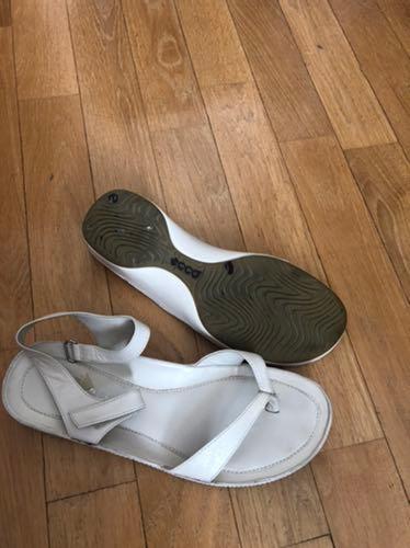 Sandały japonki Ecco,39, stan idealny