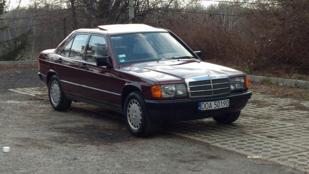 Mercedes 190 W201 2.0 122km automat 112000km