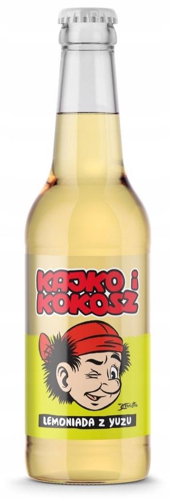 Kajko i Kokosz - Lemoniada z Yuzu - napój gazowany
