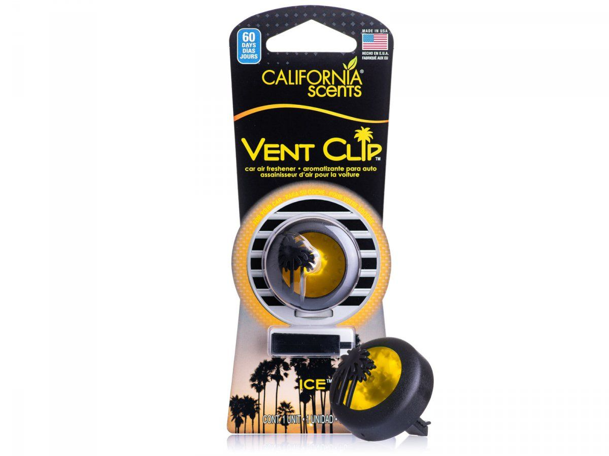 California Scents Vent Clip Ice Lodowy
