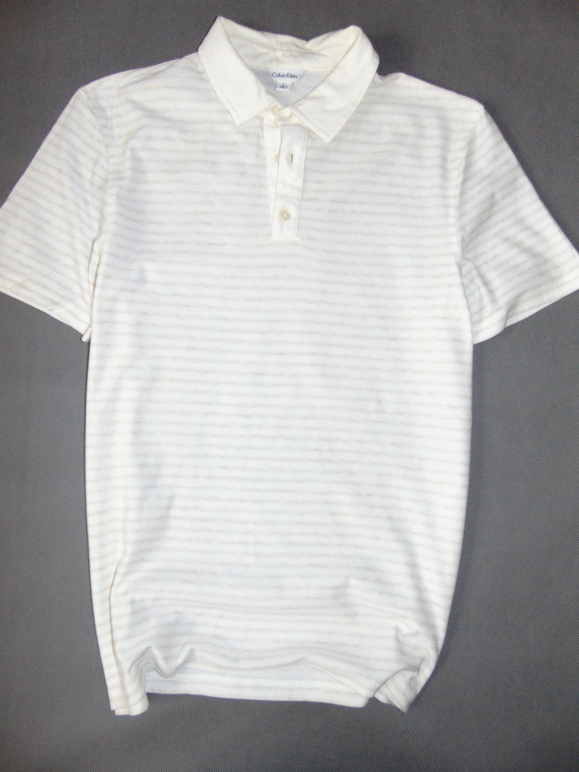 CALVIN KLEIN kapitalna koszulka męska polo r S