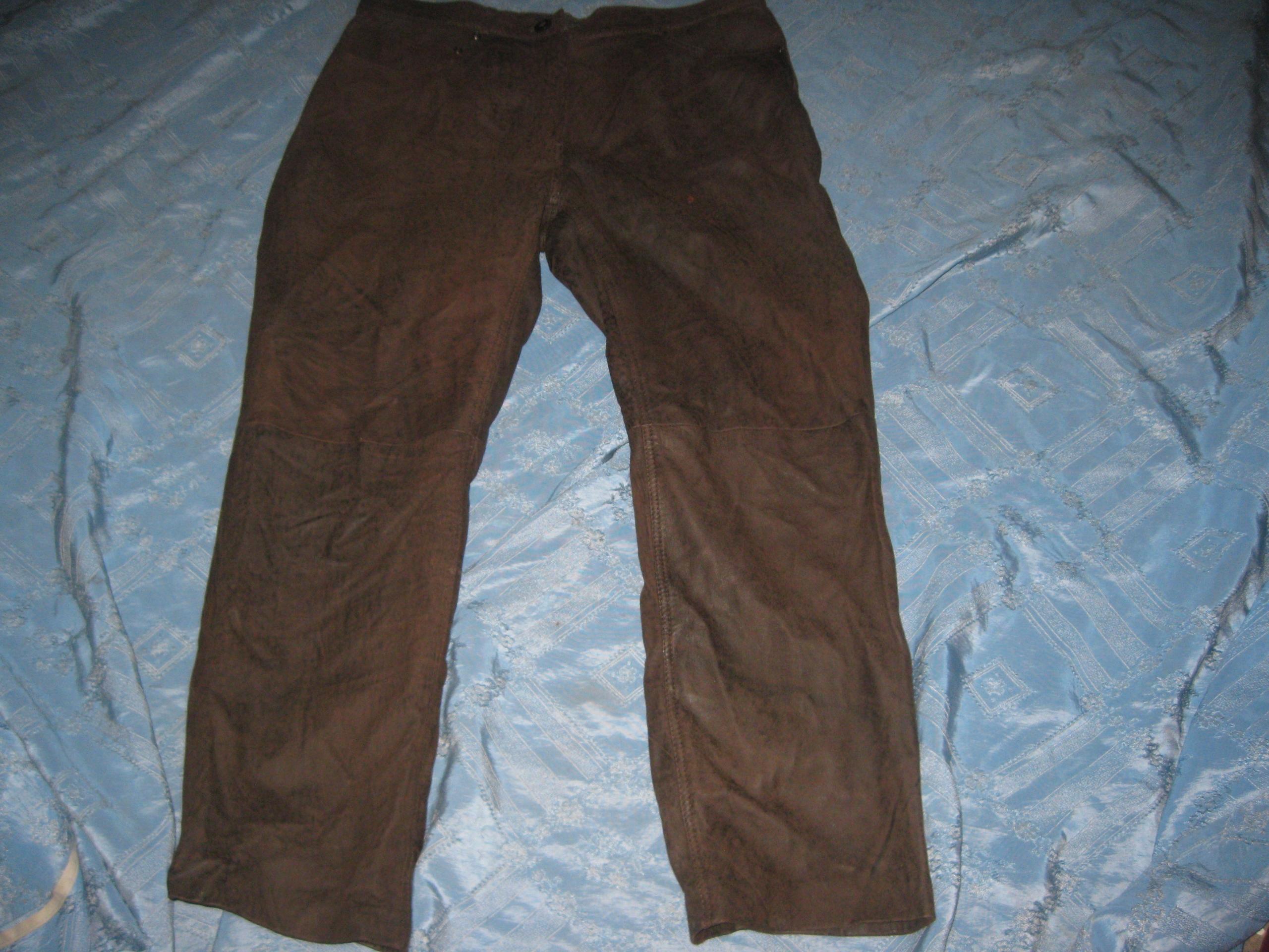 Spodnie skórzane CHEVIREX Germany 168-172/86-90