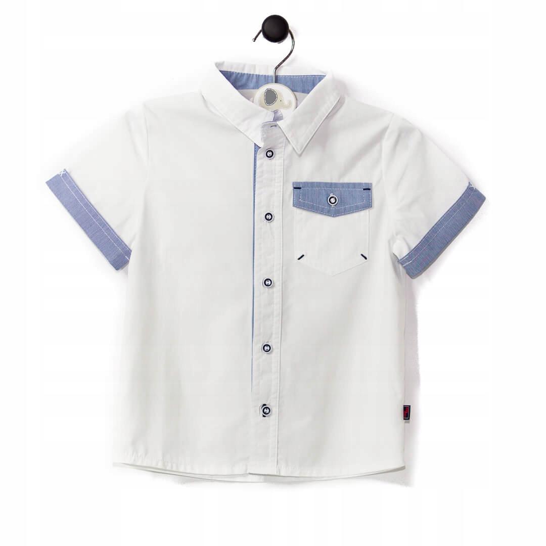 Koszula chłopięca z krótkim rękawem MMDadak