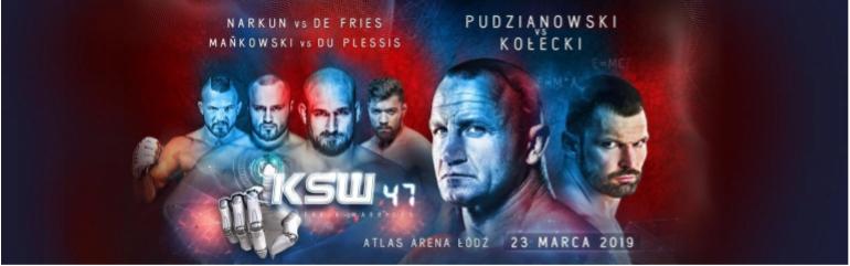 2 bilety KSW 47