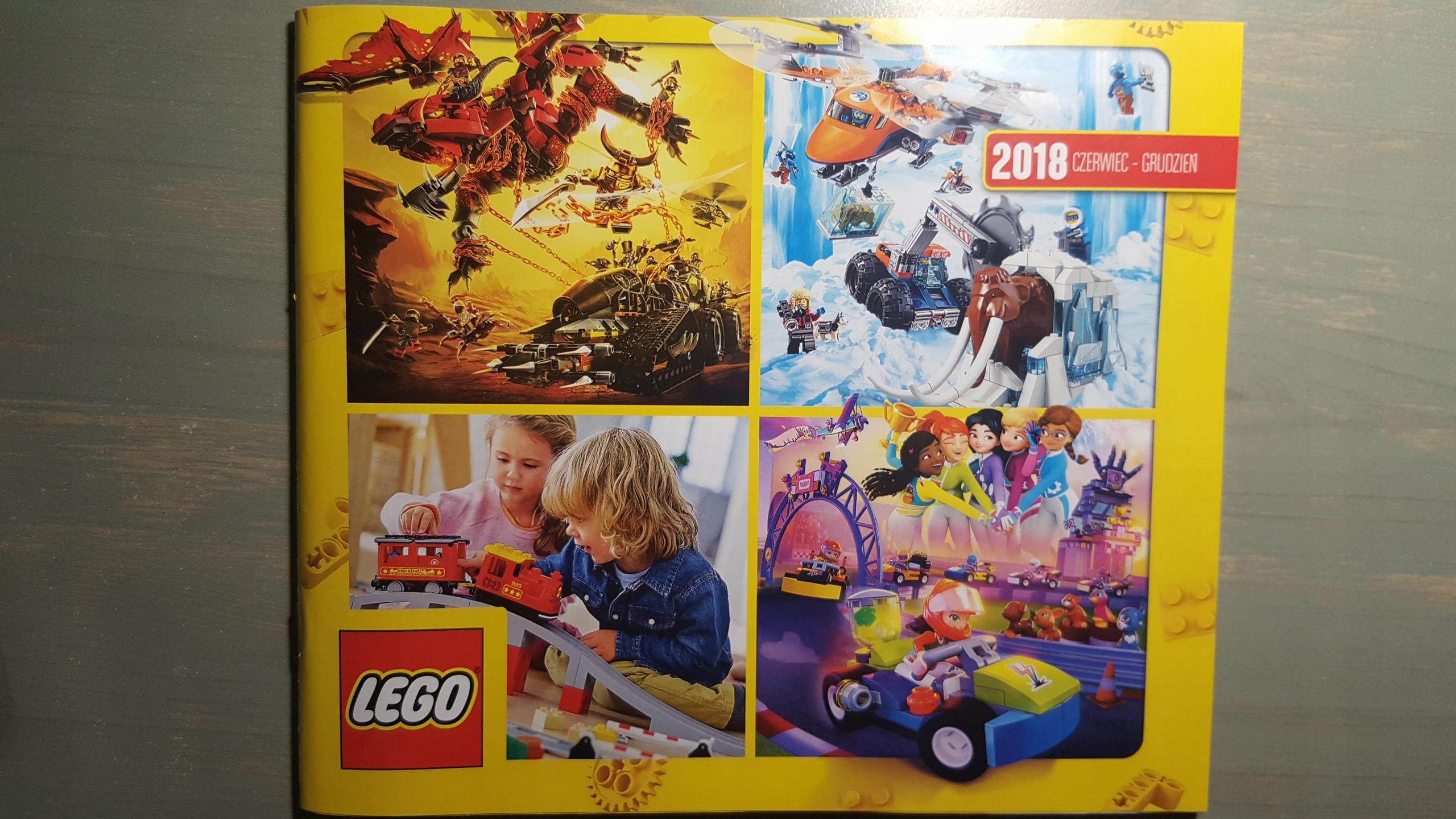 Katalog Lego 2018 Czerwiec Grudzień Najnowszy 7449175818