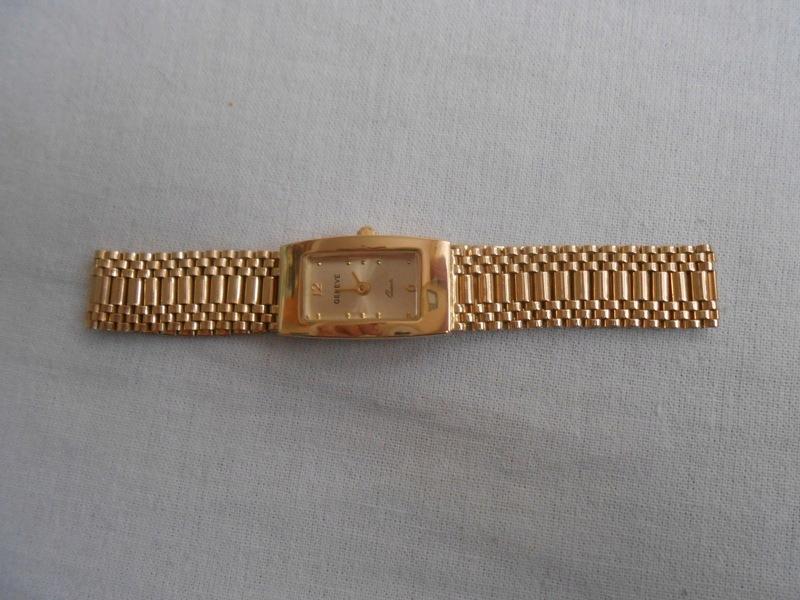 złoty zegarek GENEVE 585