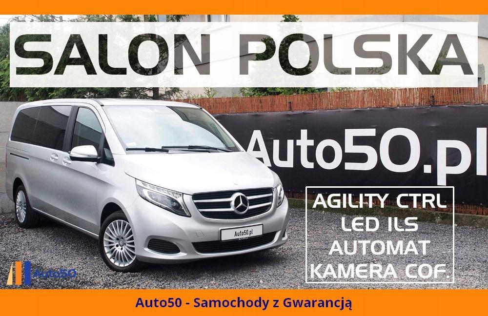 Mercedes V250 SALON POLSKA Automat LONG 7-osób VAT