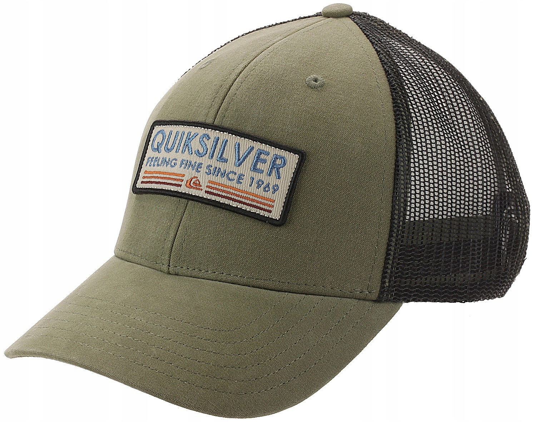 czapka Quiksilver Rig Tender Trucker - CQY0/Thyme