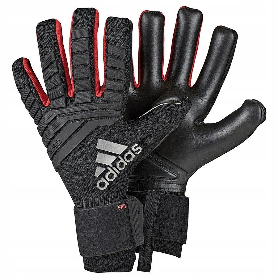 Rękawice adidas Predator Pro DN8578 - CZARNY; 9