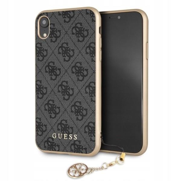 GUESS Etui hardcase GUHCI61GF4GGR iPhone Xr 4G Cha