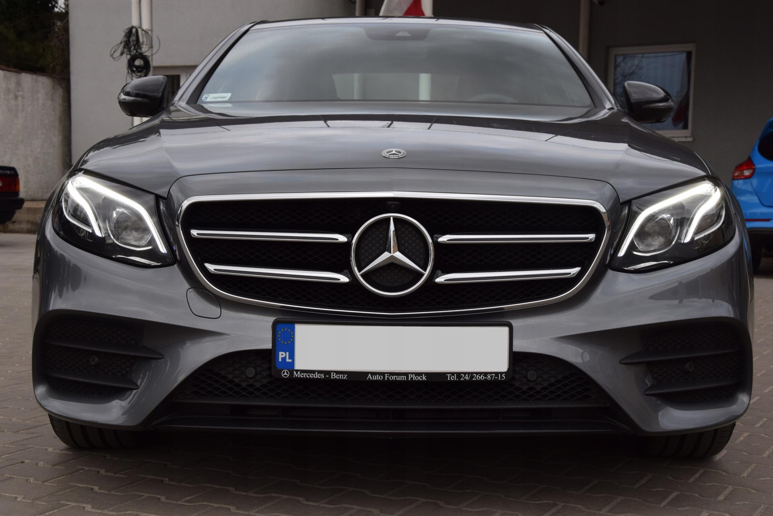 Wynajem Mercedes E 220d 4-Matic Warszawa