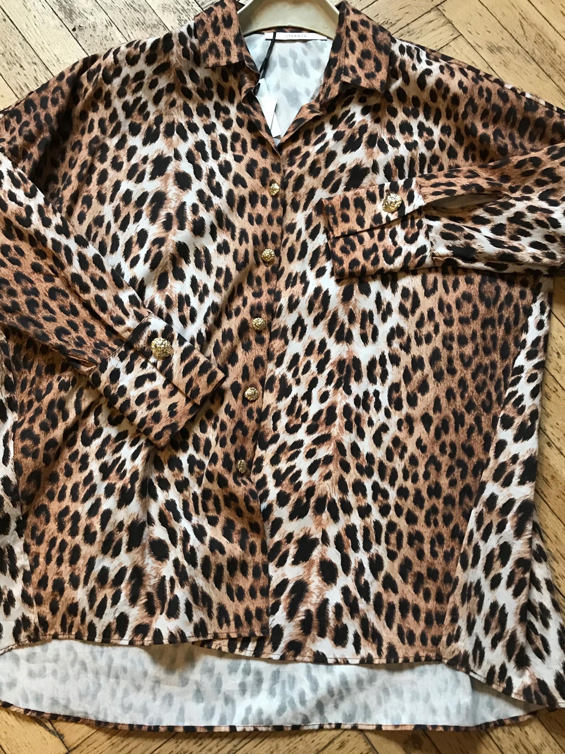 Uterque panterka koszula nowa S