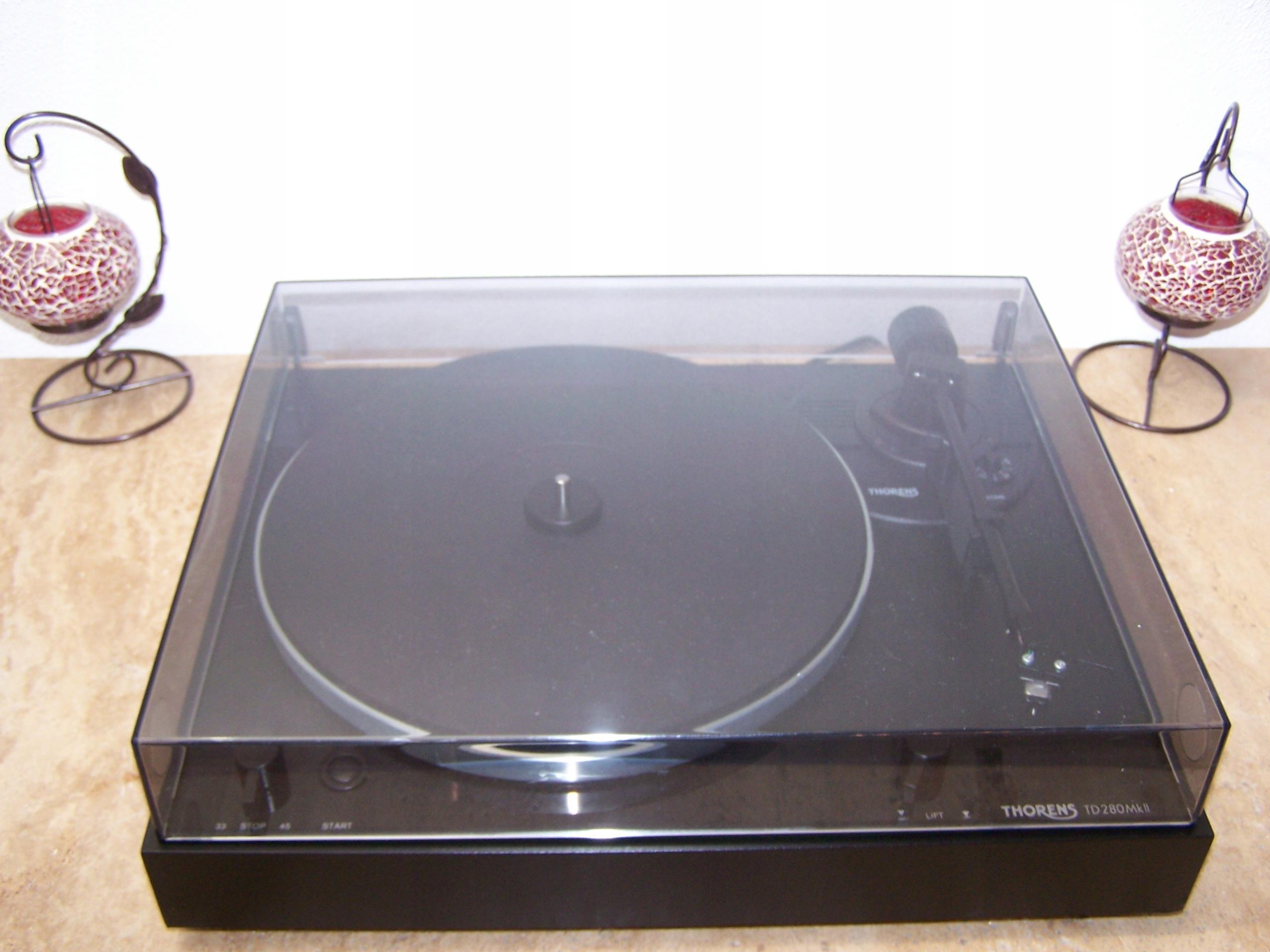Audiofilski Thorens TD280 MK2 Stanton mk4 Śliczny