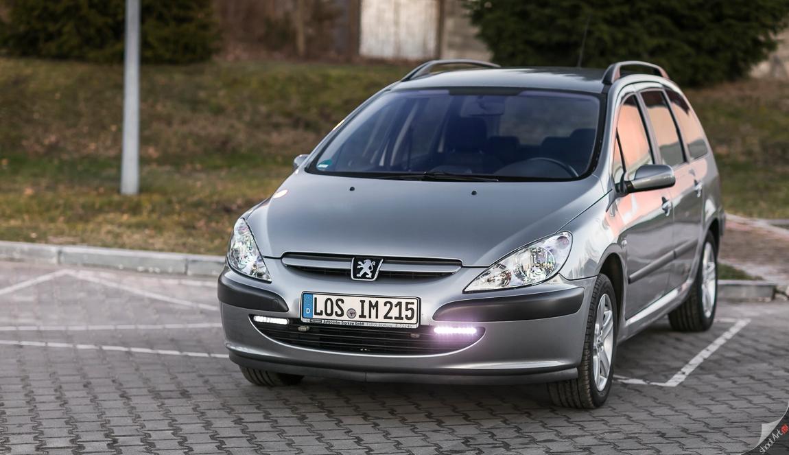 Peugeot 307 2003r KLIMATRONIC 2.0i AUTOMAT Parktro