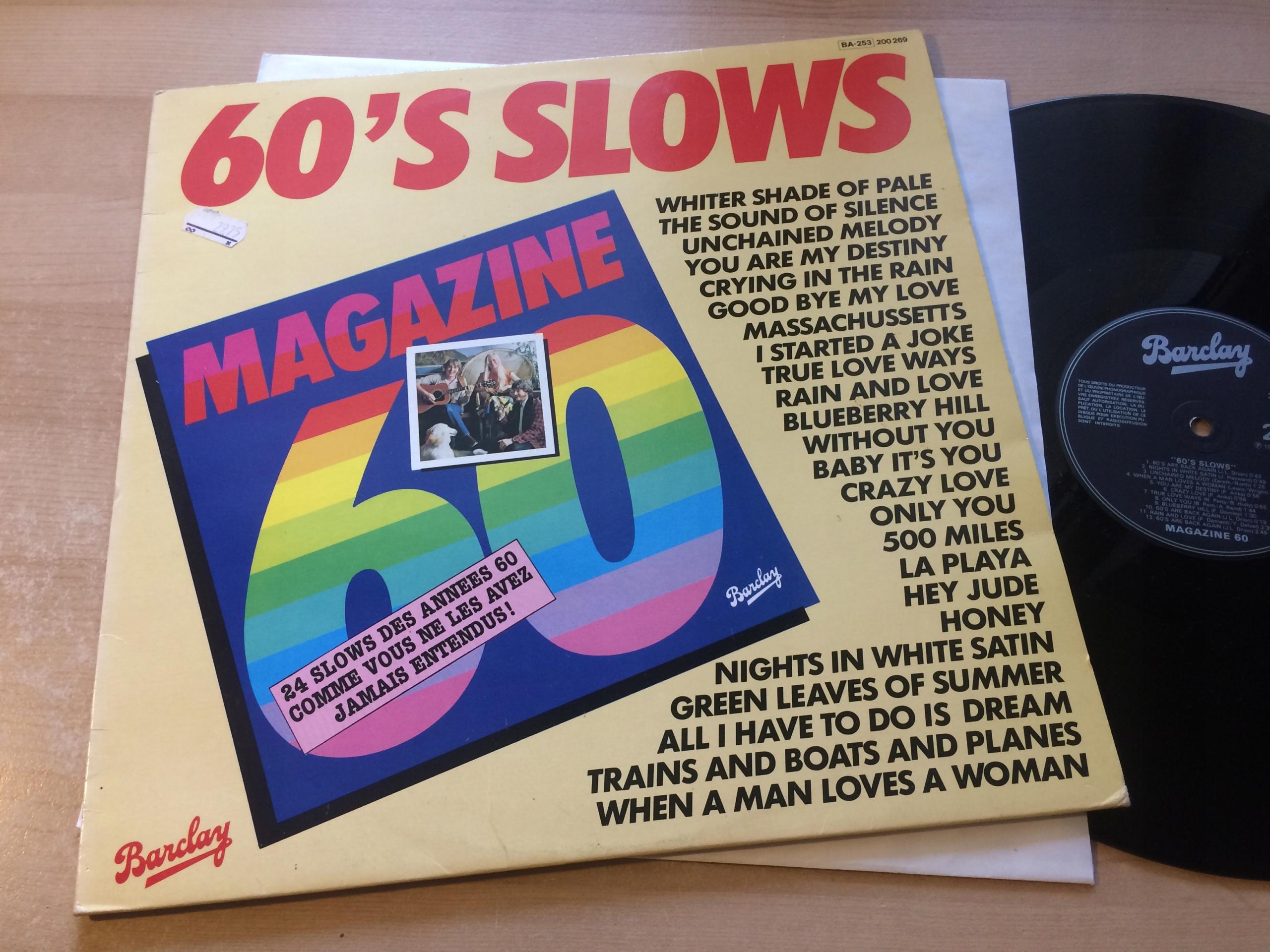 # Magazine 60 60's Slows [VG-/VG]