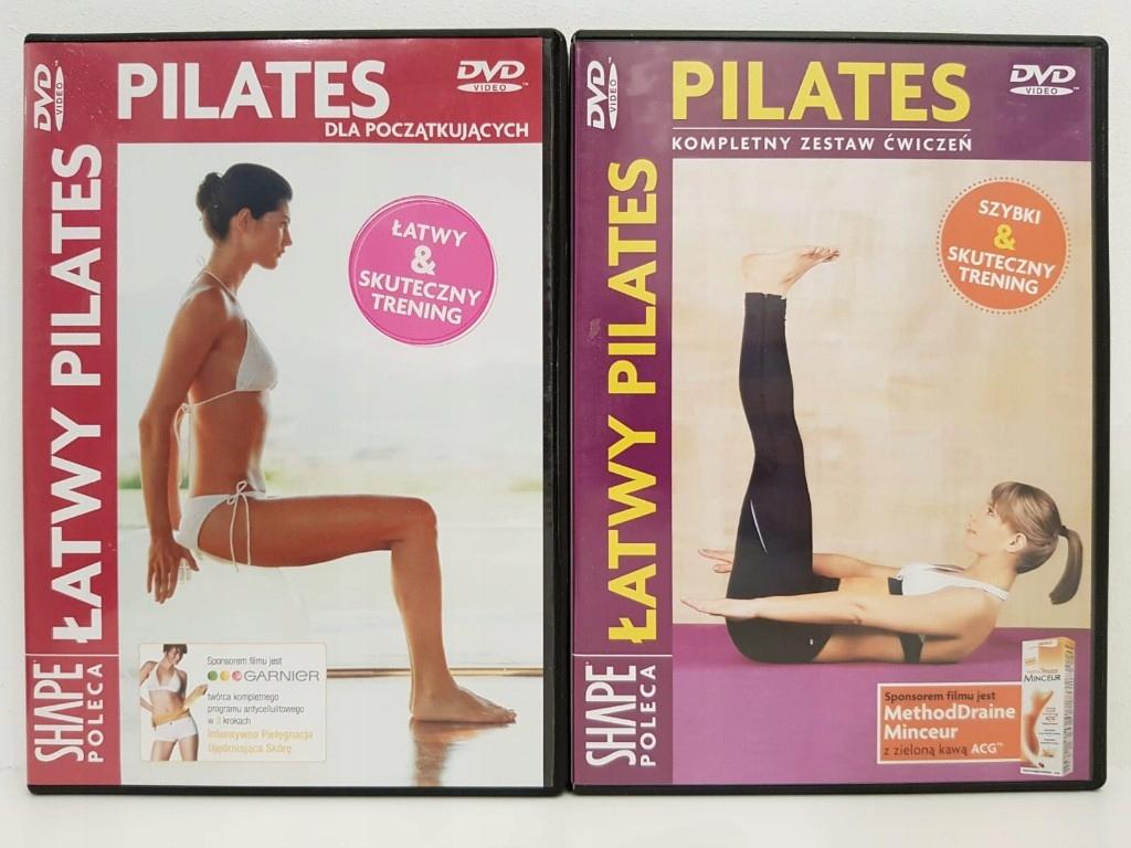 Pilates 2 x dvd