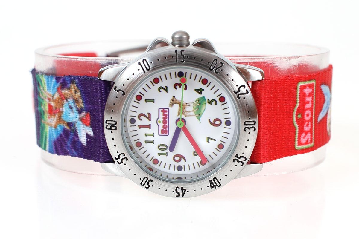 Zegarek dziewczęcy SCOUT 280378001 KOLOROWY