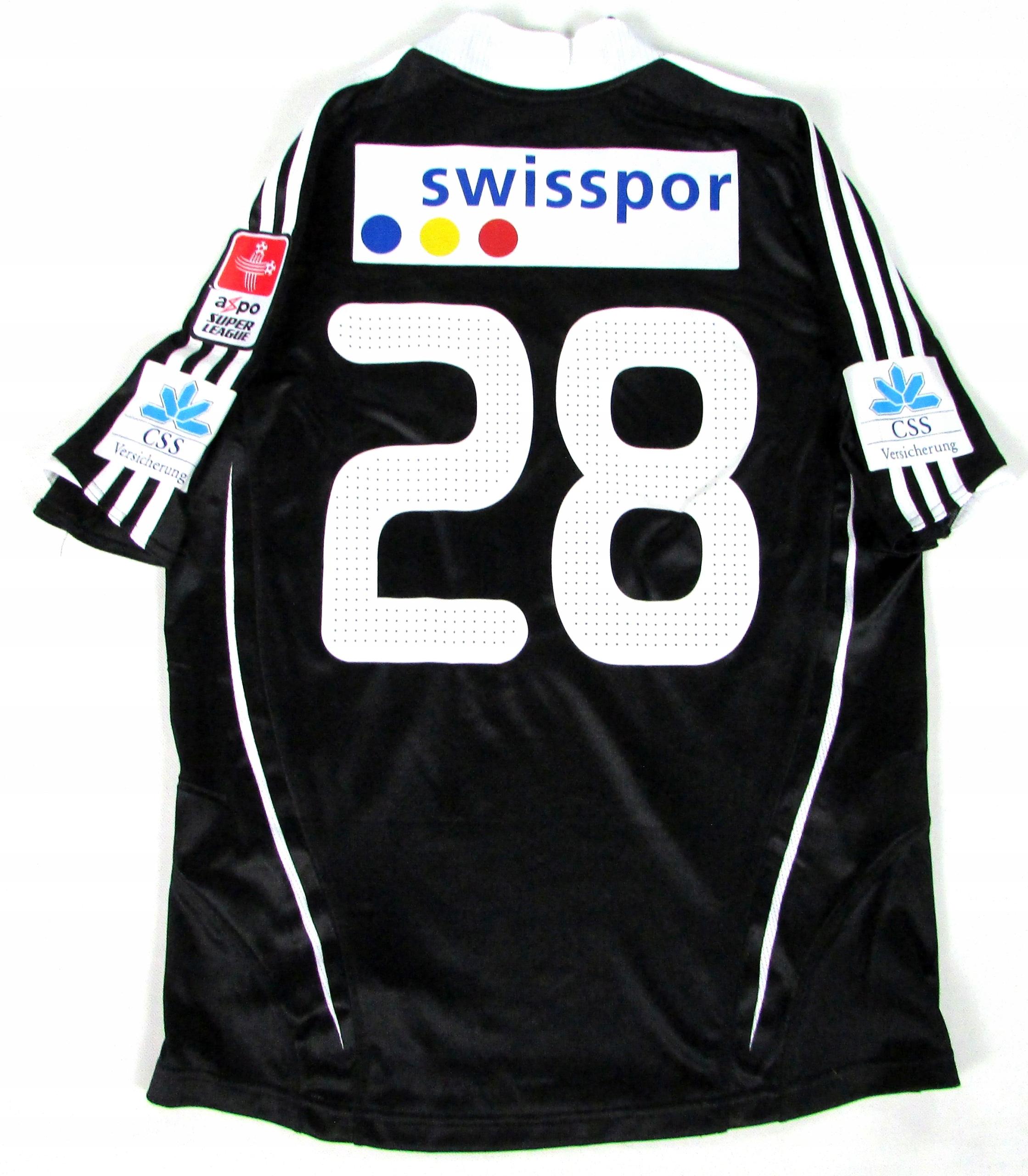FC LUZERN__Oficjalna koszulka meczowa__2008/09