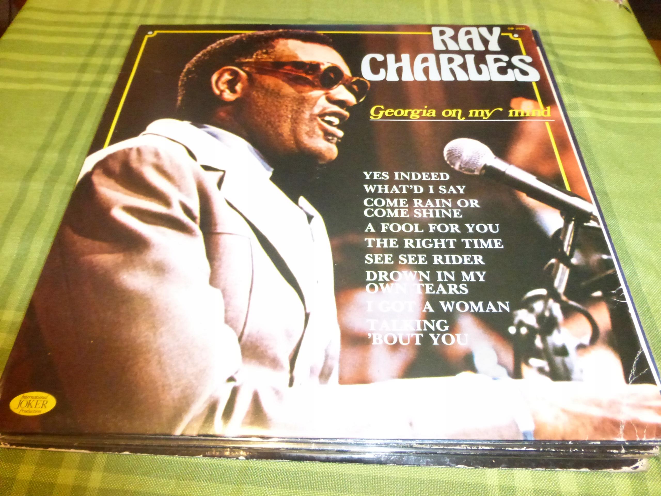 Ray Charles - Georgie On My Mind NM