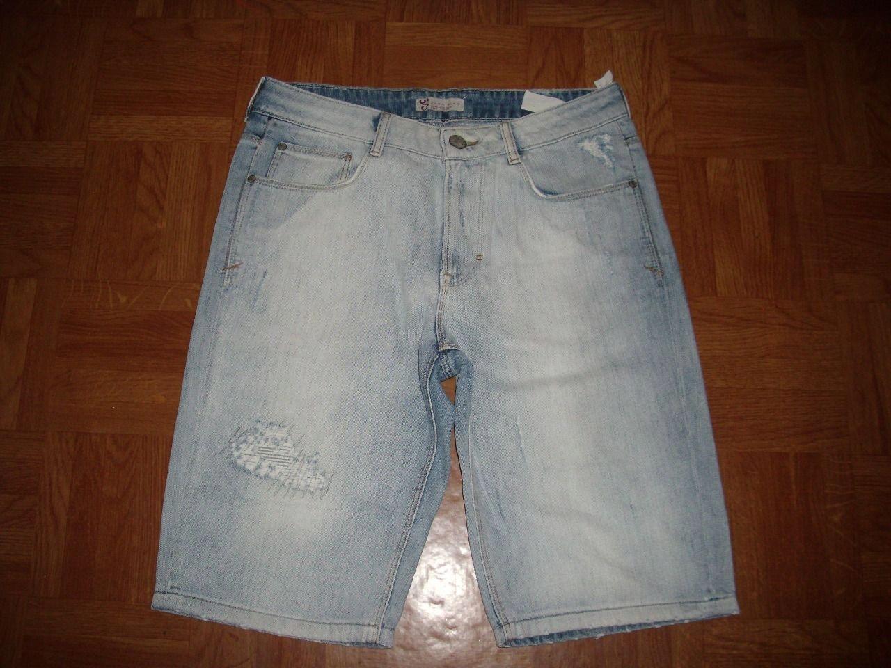 ZARA MAN spodenki jeans pas 86