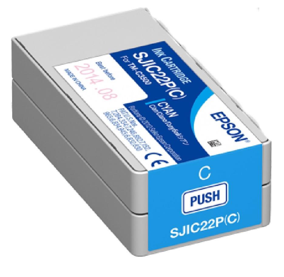 Tusz do drukarki Epson C3500 TM-C3500 (cyan)